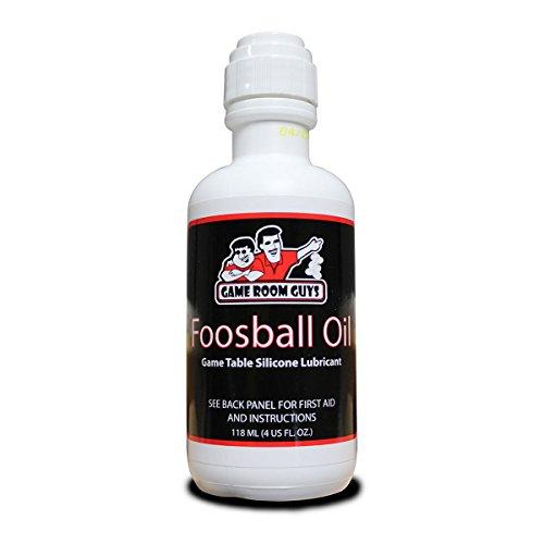 Game Room Guys Foosball 4 oz Bottle Foosball Oil Rod Silicone