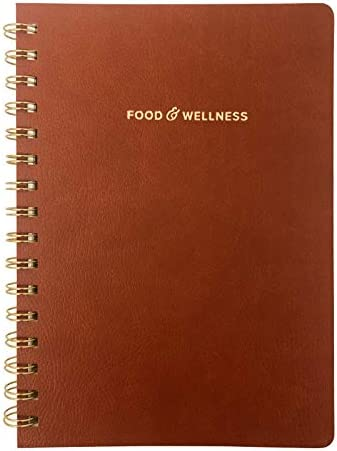 Food and Exercise Journal for Women. Track Meals, Nutrition and Weight Loss - 90 Days (Walnut Brown) 3