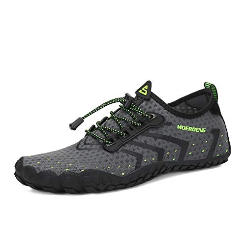 MOERDENG Men Women Water Shoes