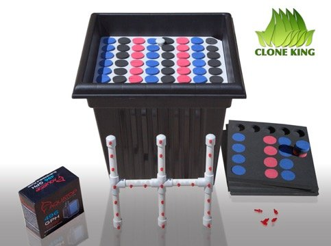Clone King 64 Site Aeroponic Cloning Machine Cloner Expect 100% Success Rates!!!