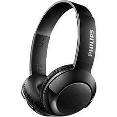 Philips SHB3075BK/00 Wireless On-Ear Headphones with Mic (Black)