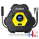Audew Tire Inflator, Portable Digital Air Compressor Pump, 12V 150 PSI Tire Pump for Car, Truck, Bicycle, and Other Inflatables-Upgraded Version