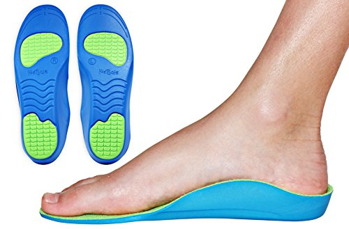 Orthotics Premium Medical Grade Insole for Children with Heel and Arch Problems (22 CM) Kids Size 2-3.5