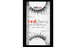 Red Cherry #DW False Eyelashes (Pack of 3 Pairs)