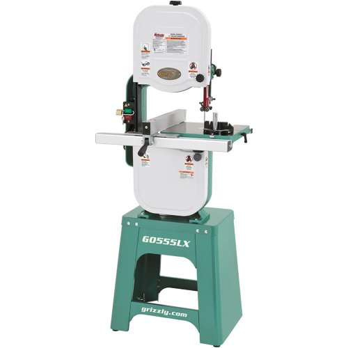 Grizzly G0555LX Deluxe Bandsaw, 14