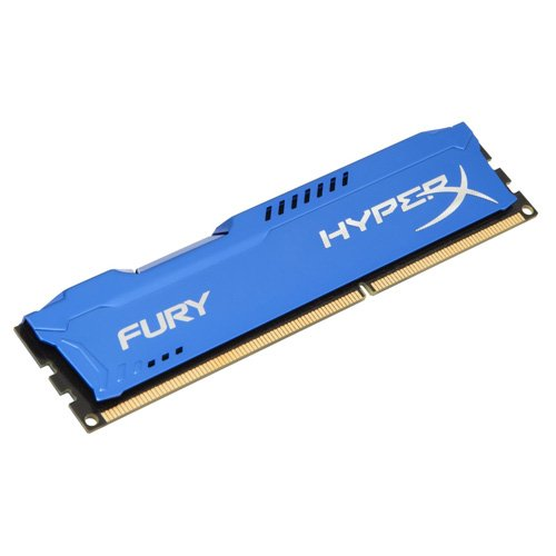 Kingston HyperX Fury 4GB 1333MHz DDR3 CL9 DIMM - Blue (HX313C9F/4)