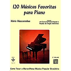 120 Músicas Favoritas Para Piano - Volume 3