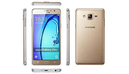 "Samsung Galaxy On7 SM-G6000 8GB Gold, Dual Sim, 5.5"", GSM Factory Unlocked International Model, No Warranty"