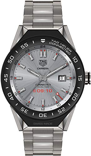TAG Heuer Connected SBF8A8001.10BF0608 AMOLED Touch Display Sandblasted Titanium Case & Bracelet
