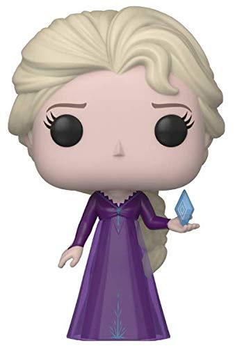 Funko Pop! Disney Frozen 2 - Elsa, en el Desconocido camisón con Ice Diamond, Amazon Exclusivo
