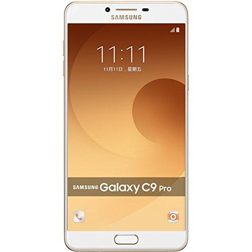 "Samsung Galaxy C9 Pro (C9000) 6GB/64GB - Dual SIM [Android 6.0.1, 6.0"" qHD Super AM-OLED, 16.0MP, NFC] (Gold)"