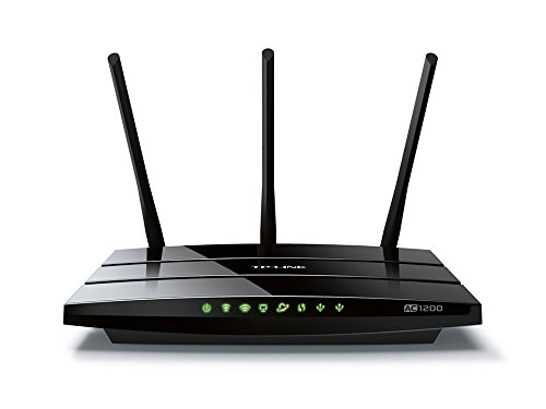TP-Link Archer C1200 Dual Band Wireless AC1200 Gigabit Router, 2.4GHz 300Mbps with 5GHz 867Mbps, 1 USB Port