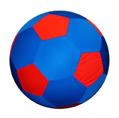Horsemen's Pride Mega Soccer Ball Blue Cover, 40-Inch