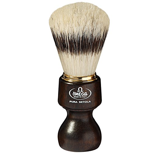 Omega 11126 Pure Bristle Shaving Brush 5