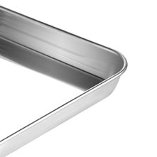 Stainless-Steel-Baking-Sheets-with-Rack-HKJ-Chef-Cookie-Sheets-and-Nonstick-Cooling-Rack-Baking-Pans-for-Oven-Toaster-Oven-Tray-Pans-Rectangle-Size-12L-x-11W-x-1H-inch-Non-Toxic-Healthy