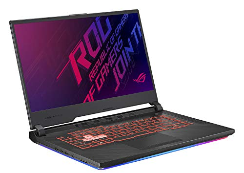 "ASUS ROG G531GT-BI7N6 15.6"" FHD Gaming Laptop Computer, Intel Hexa-Core i7-9750H Up to 4.5GHz, 8GB DDR4, 512GB SSD, NVIDIA GeForce GTX 1650, 802.11ac WiFi, HDMI, USB 3.0, Windows 10 115"
