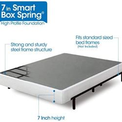ZINUS 7 Inch Smart Metal Box Spring / Mattress Foundation / Strong Metal Frame / Easy Assembly, Twin XL