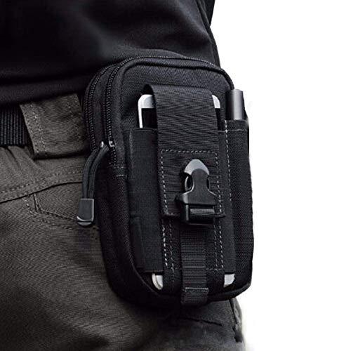 CoWalkers Bolsa de cintura táctica para exteriores, portaherramientas de polietileno multiusos...