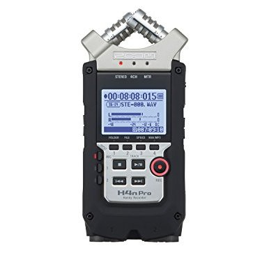 Zoom-H4n-PRO-4-Channel-Handy-Recorder-Bundle-with-Movo-Omnidirectional-and-Cardioid-XLR-Lavalier-Microphones