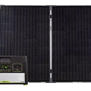 Goal Zero Yeti 1000 Lithium Solar Generator Kit with Boulder 200 Watt Briefcase Solar Panel