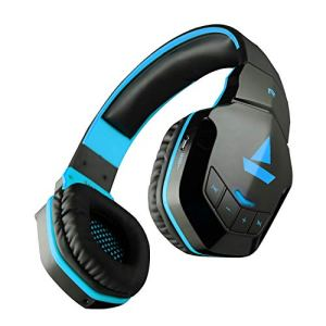 boAt Rockerz 510 Bluetooth Headphone with Thumping Bass, Up to 10H Playtime, Dual Connectivity Modes, Easy Access Controls and Ergonomic Design (Jazzy Blue)