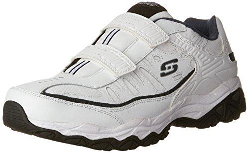 Skechers Men's AFTERBURNM.FIT-FI Strike Memory Foam Velcro Sneaker