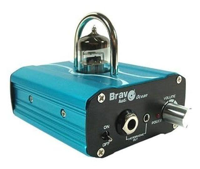 Amazon Com Bravo Audio Ocean Mini Valve Class A Tube Headphone Amplifier Home Audio Theater