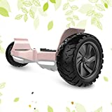 HYPER GOGO Hoverboard, Off-Road All Terrain Self Balancing Scooter with Bluetooth Speaker, LED Light by UL 2272 Certified Best Gift for Kids True Audiophiles