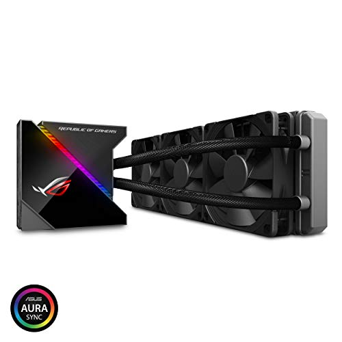 ASUS-Rog-Ryujin-360-RGB-AIO-Liquid-CPU-Cooler-360mm-Radiator-Three-120mm-4-pin-Noctua-iPPC-PWM-Fans-with-Livedash-Oled-Panel-and-FanXpert-Controls-360-mm