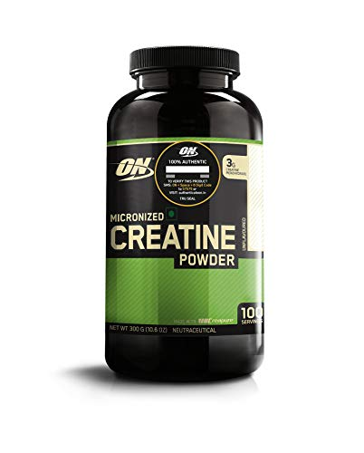 Optimum Nutrition (ON) Micronized Creatine Monohydrate Powder – 300 Grams (Unflavored)