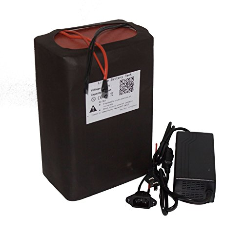 48V 30AH Lithium Battery Pack for Motorcycle Electric Bicycle Scooter Power with A Charger
