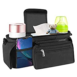 A stroller organizer gives you extra space for storing more diapers, snacks, and baby gear. Facamword stroll bag organizer can be incredibly convenient if your current stroller doesn't meet your needs, and important for you to enjoy high utility valu...