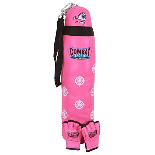 Combat Sports Kid's MMA Bag & Gloves Set, Pink