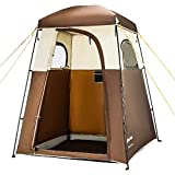 KingCamp Oversize Outdoor Easy Up Portable Dressing Changing Room Shower Privacy Shelter Tent Coffee