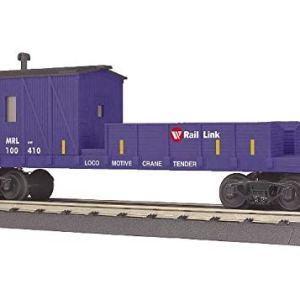 MTH TRAINS; MIKES TRAIN HOUSE MRL Crane Tender CAR 41pmaHh43BL