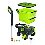 Sun Joe SPX6001C-XR Pressure Washer, Green