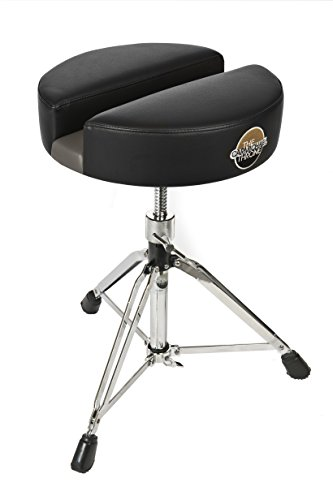 Carmichael Throne CT200-15BV Spindle Drum Throne with Patented Split Seat Technology; For Lower Back, Sciatica, Tailbone, Coccyx, Degenerating Disc, Sacrum, Prostate and Pelvic Pain Relief!