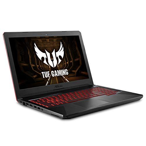 ASUS FX504 Thin & Light TUF Gaming Laptop, 15.6' Full HD, 8th Gen Intel Core i7-8750H Processor, GeForce GTX 1050 Ti, 8GB DDR4, 256GB M.2 SSD, Gigabit WiFi, Windows 10 - FX504GE-ES72