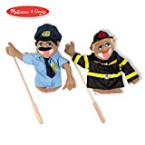 "With police officer Cyrus ""Cy"" Wren and firefighter Chief Walter Blaze on duty, the neighborhood is sure to be safe from all harm! On each puppet, children can use one hand to manipulate the mouth and facial expressions while the other hand gestures ..."
