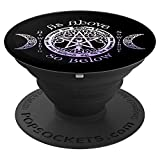 Wiccan Pagan Witch As Above, So Below Sacred Item Pentacle - PopSockets Grip and Stand for Phones and Tablets