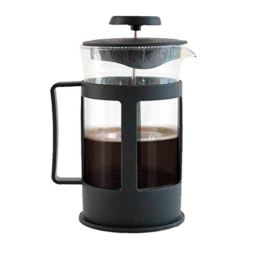 Cafetera Prensa Francesa de 1L vidrio tipo embolo french press ideal para compartir un cafe gourmet...