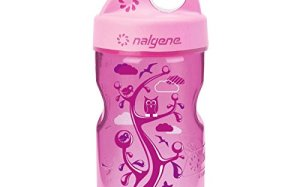 Nalgene Grip-N-Gulp Water Bottle (Pink Woodland, 12-Ounce)