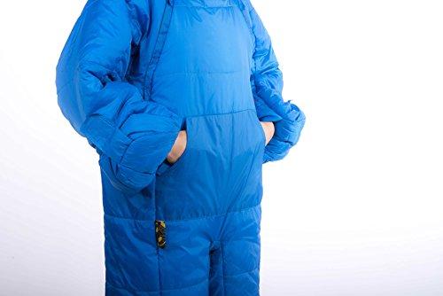 Selk'bag Adult Original 5G Wearable Sleeping Bag: Rain Drop, X-Large
