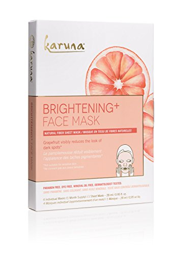 41q7CwDgqsL Item Condition: 100% authentic, new and unused. Karuna Brightening + Face Mask 4 Individually Wrapped Masks. Karuna Brightening + Face Mask 4 Individually Wrapped Masks: Buy Karuna Masks Peels - Karuna Brightening + Face Mask: Grapefruit Seed extract helps deflect environmental toxins Rare Asian plant extracts promotes brighter skintone Salicylic Acid gently exfoliates dead skin cells Not suitable for Sensitive SkinDetails provided by Karuna Type: Mask