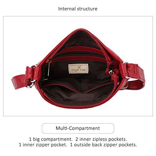 Crossover Purse and Handbags Crossbody Bags for Women Soft Leather Wallet Cute Small Neatpack Bag with Pockets 6 Fashion Online Shop gifts for her gifts for him womens full figure