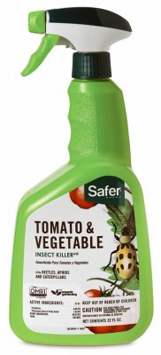 Safer Brand Woodstream 5085-6 Organic Tomato & Vegetable Insect Killer, 32-oz. - Quantity 6