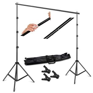 SH-26-X-3M-Adjustable-Background-Stand-Background-Support-Kit-Removable-with-Carry-Bag-for-Hanging-Background-Cloth