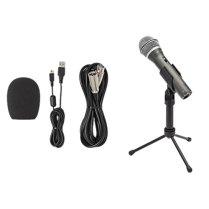 Samson-Q2U-Handheld-Dynamic-USB-Microphone-Recording-and-Podcasting-Kit-Accessory-Bundle