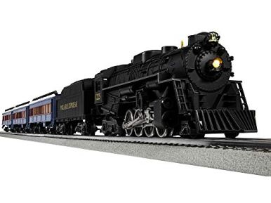 Lionel-The-Polar-Express-Electric-O-Gauge-Model-Train-Set-with-Remote-and-Bluetooth-Capability