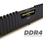 Corsair Vengeance LPX 16GB (2x8GB) DDR4 DRAM 3000MHz C15 Desktop Memory Kit – Black (CMK16GX4M2B3000C15)